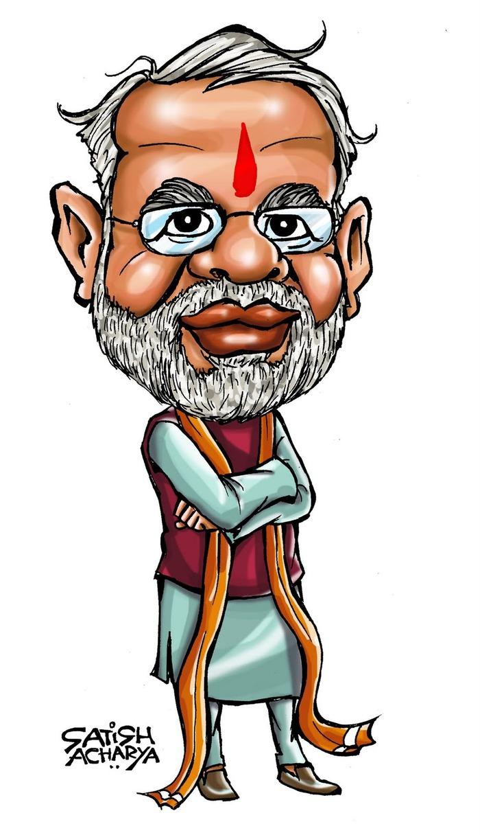 Narendra Modi Cartoon Photo | kadada org