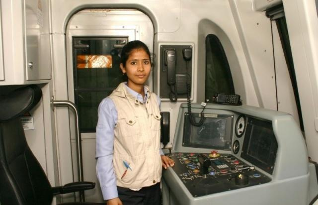 As a little girl Shail Mishra of Bihariganj locality in Ajmer got fascinated on seeing trains running near her place and dreamed of driving the locomotive some day. She now drives metro train in New Delhi at 120 km per hour and feels honored to be the first woman loco pilot from the state and Delhi.
