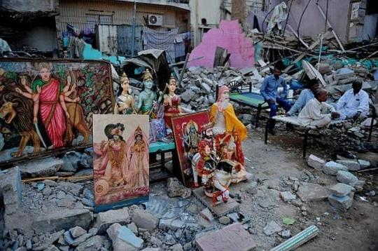 Protests after Hindu Temple Demolition in Pakistan