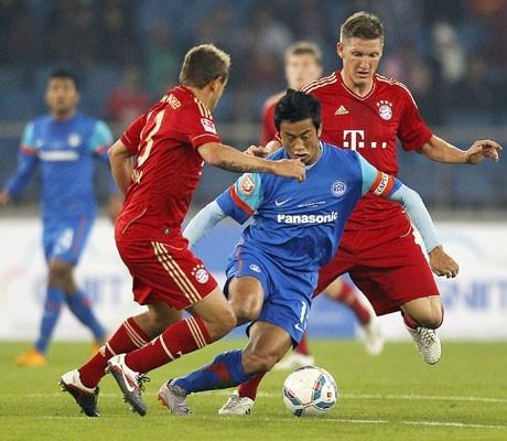 Bayern Munich vs India: One match, three winners!