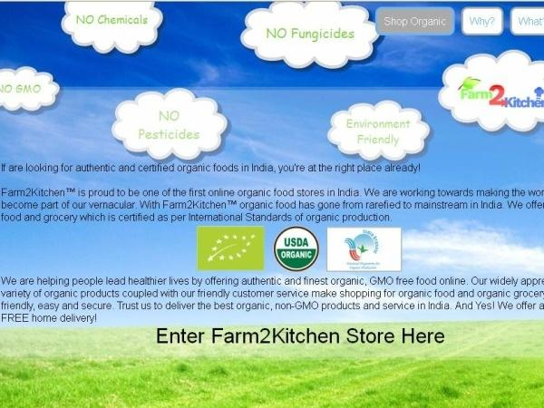 Farm2Kitchen.com: Your Organic Shopping Destination [Website Review]