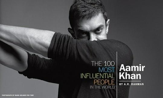 Aamir Khan profile TIME magazine