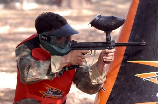 How About Some Paintball With Your Dad?