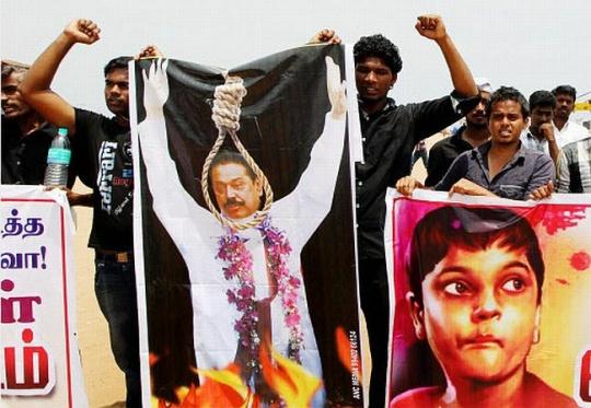 Sri Lankan protests