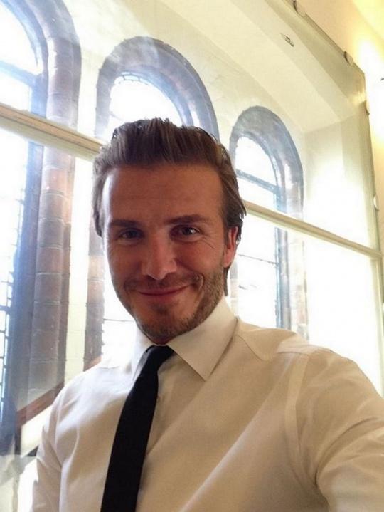 Beckham selfie