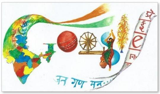 Google Doodle Contest Won by Pune Girl