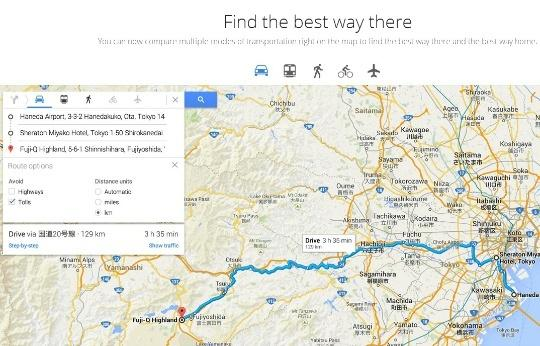 Google Maps to Provide Multi-Stage Directions on