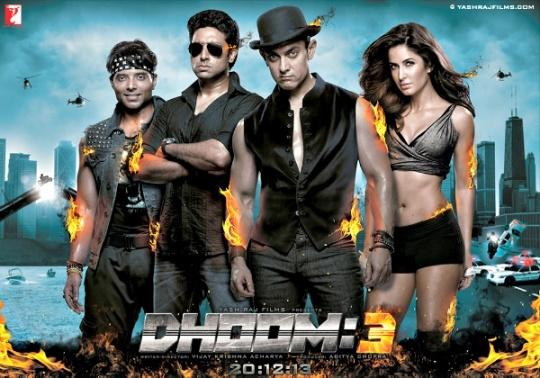 Image result for dhoom 3 poster