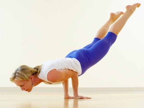 Mayurasana Power Yoga Pose For A Flat Belly