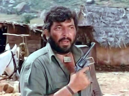 Gabbar Singh from Sholay
