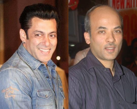 Salman Khan and Sooraj Barjatya