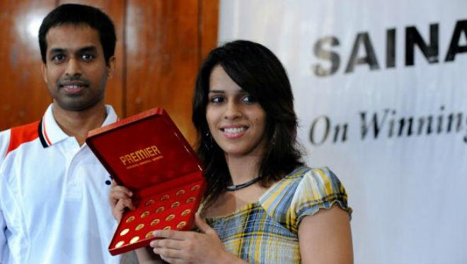 Pullela Gopichand and Saina Nehwal