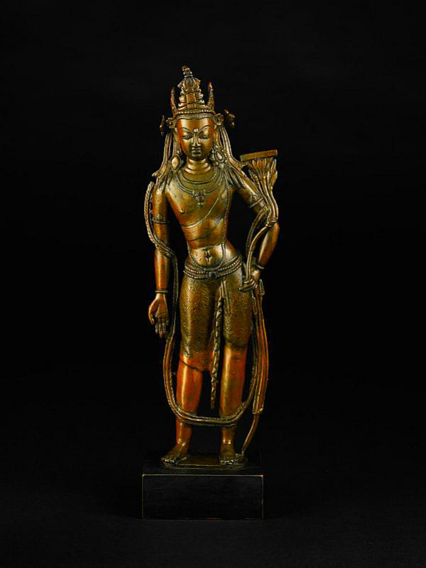 Bodhisattva Manhushri statue