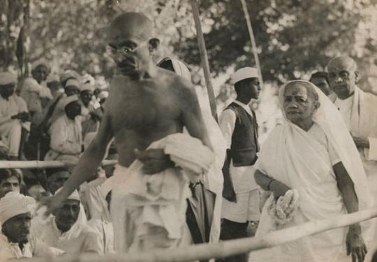 Gandhi and Kasturba