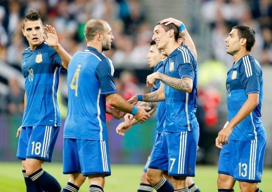 Argentina Dish Out Revenge On Germany