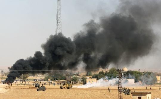 US, Partners Begin Air Strikes in Syria