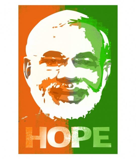 Narendra Modi fan art