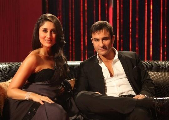 Saif Ali Khan and Kareena Kapoor on Koffee With Karan