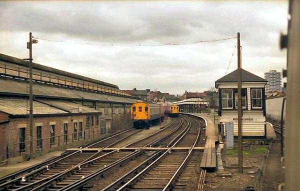 Addiscombe Railway Station