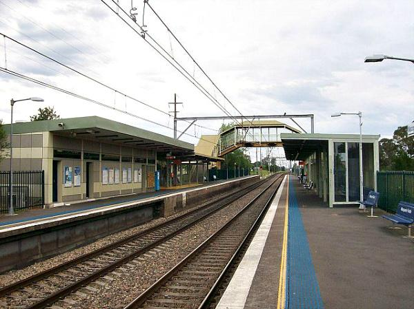 Macquarie Fields Train Station