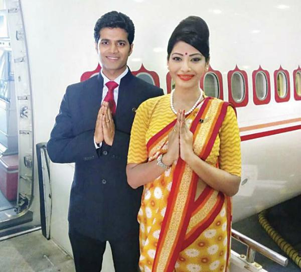 air india new uniforms
