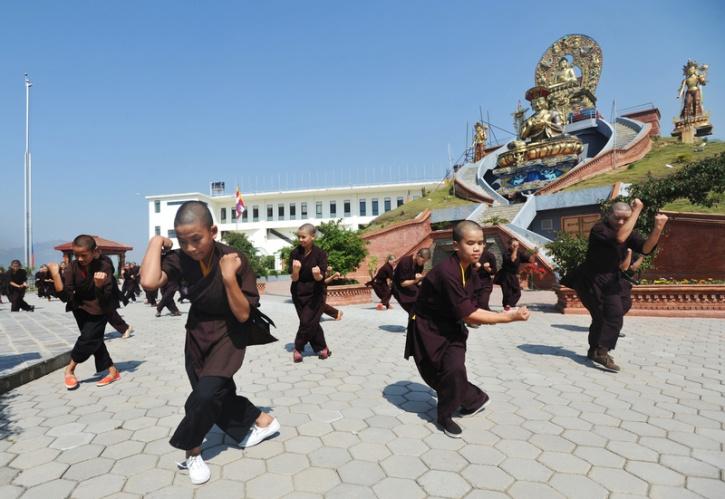 nepal kungfu nun