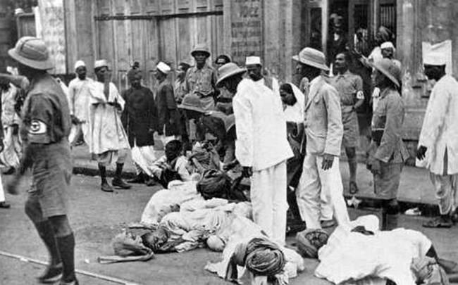 Image result for images of quit india movement