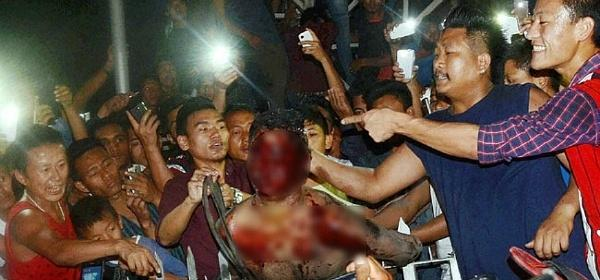 dimapur attack mob