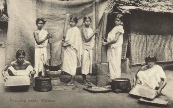 When women in Travancore were not allowed to cover breasts