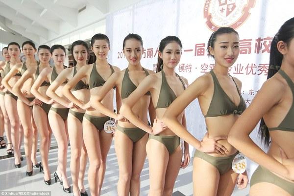 china air hostesses bikini 3