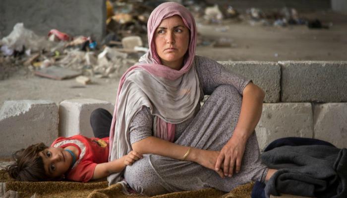 Yazidi women