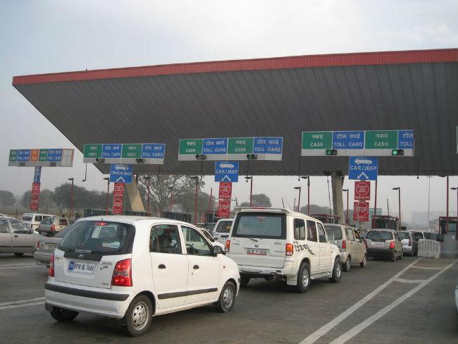 toll plaza