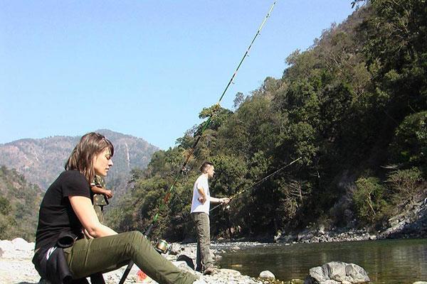 Ramganga river fishing