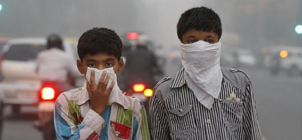 Delhi polluted