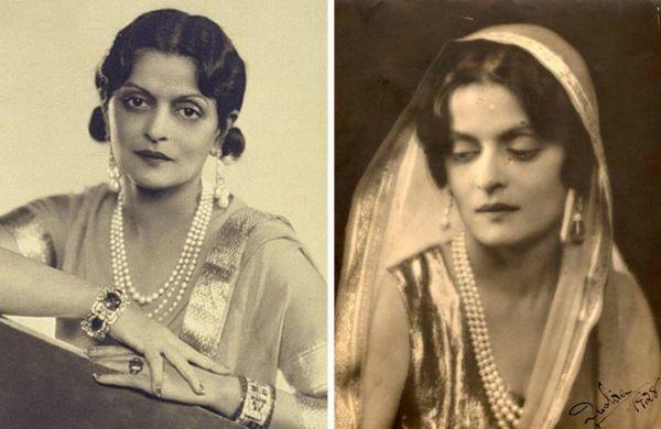 10.Maharani Indira Devi of Cooch Behar