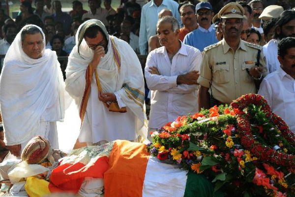 mysore king's death