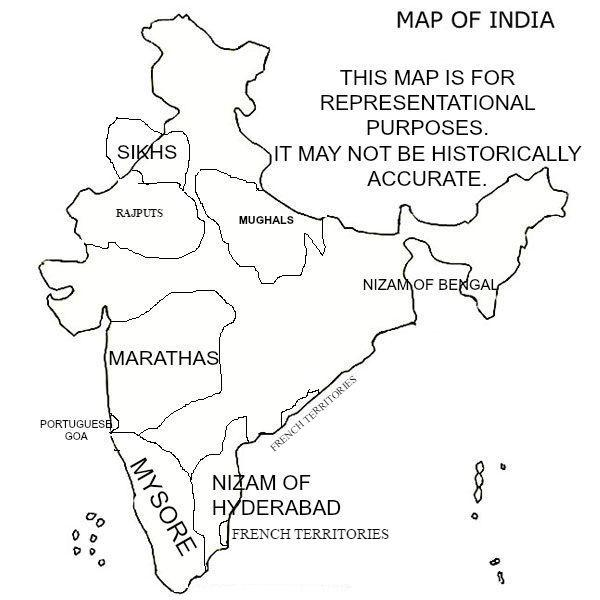 if the british had never ruled our country this would be india Cultural Traditions map