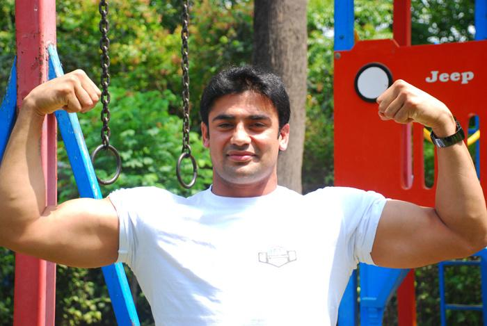 Sangram wants to help aspiring sportsmen in India.