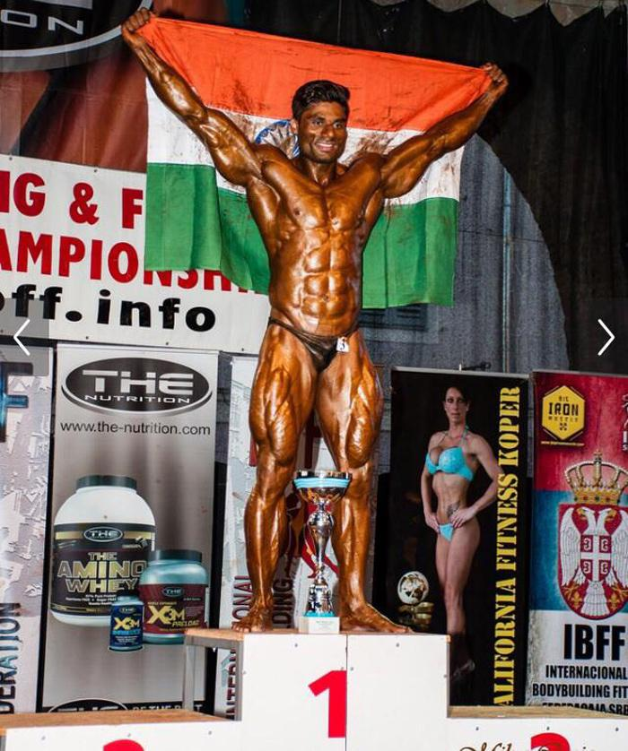 Wasim Khan has won the overall title in the IBFF World Championships for the second time.
