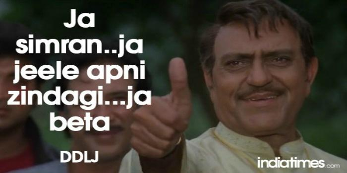 Epic Dialogue By Amrish Puri In DDLJ