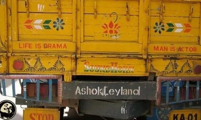 20 Hilarious Pieces Of Wisdom Seen Behind Indian Trucks
