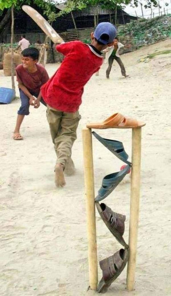 Cricket jugaad