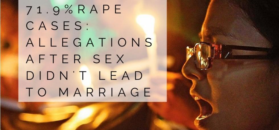 rape allegations false