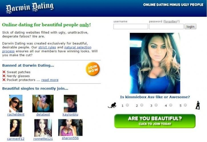 dating website ugly