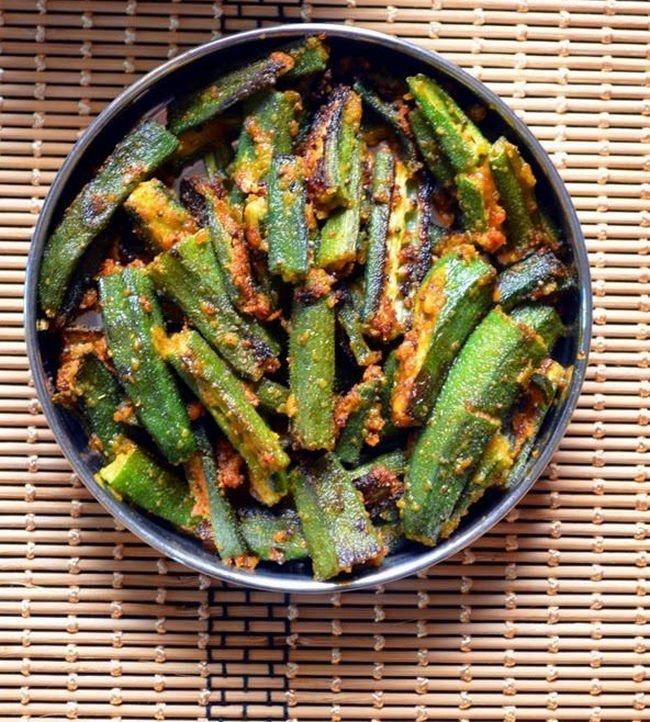 15 indian dishes you can make in 15 minutes indiatimes 10 bhindi fry forumfinder Choice Image