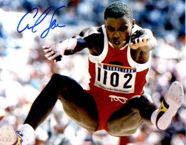 Carl Lewis in 1988 Olympics