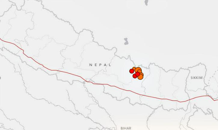 Nepal earthquakes May 12