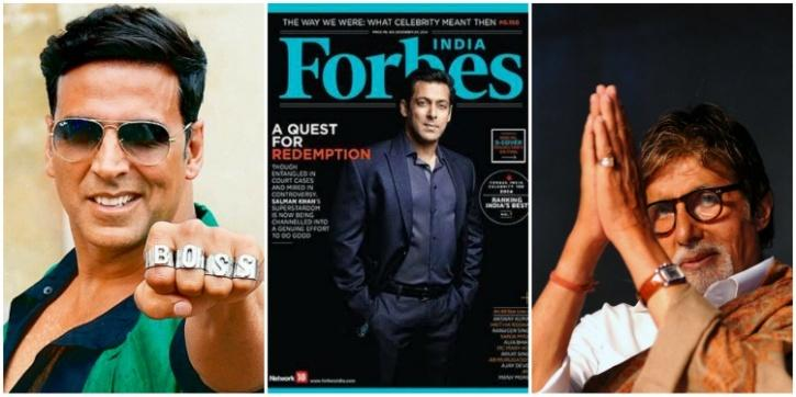 forbes list of top indian actors