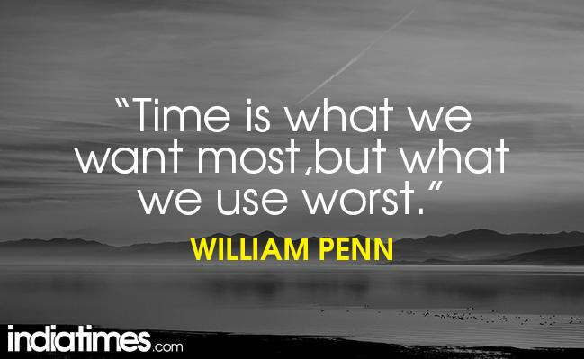 20 Quotes That Prove Time And Tide Wait For No One Indiatimescom