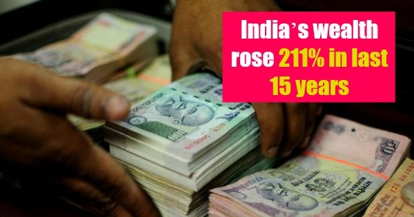 India Is Now The 10th Richest Country In The World, Its Wealth